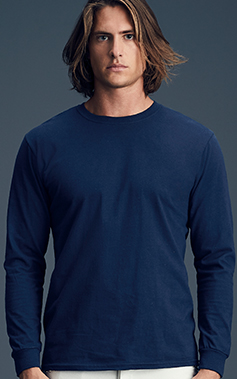 720242d9967 784. Adult Midweight Long Sleeve Tee